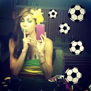Voordat ik de wedstrijd begon voorspelde ik al dat Brazilie zou winnen ;-)